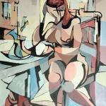 1998-L'attesa-70x50cm