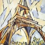 1999-Parigi- torre Eiffel- 70x50cm