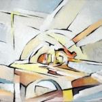 Informale-acrilico su tavola-50x70cm
