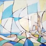 2020 Barche alla Meloria 60x90cm